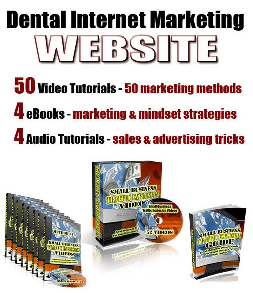 Product picture Dental Internet Marketing Web Site