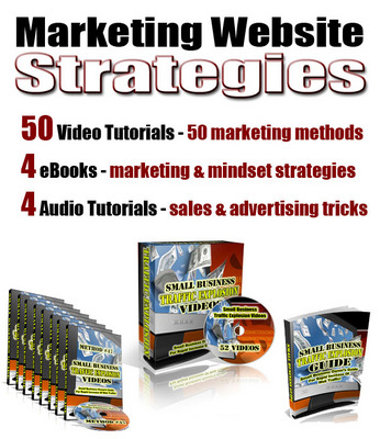 Product picture Marketing Website Strategy