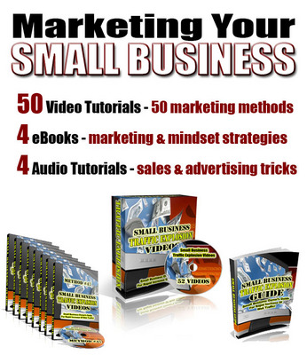 Product picture Marketing Your Small Business