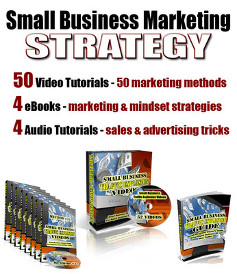 Product picture Small Business Marketing Strategy